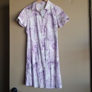 Comptoir Des Cottoniers &Calla  purple print dress